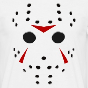 Jason killer Hockey mask - Men's T-Shirt