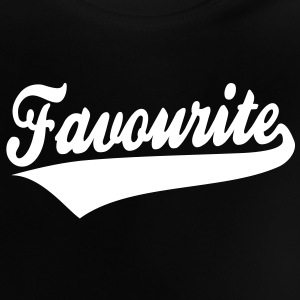 Favourite Design Baby T-Shirt WB - Baby-T-shirt