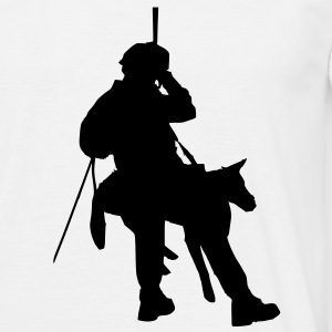 firefighter rescue dog lot T-Shirts - Men's T-Shirt