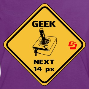 roadsign geek by customstyle Tee shirts - T-shirt contraste Femme