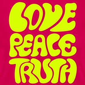 Love Peace Truth * Lifestyle 70s T-Shirts Goa Camisetas - Camiseta mujer