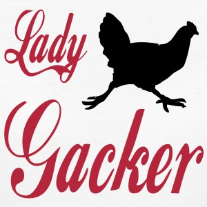 lady_gacker T-Shirts - Frauen Bio-T-Shirt