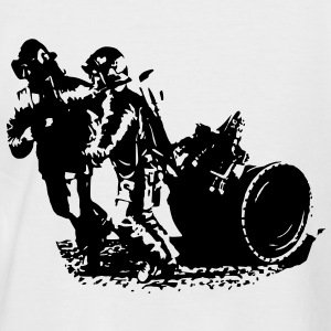 firefighter team water supply T-Shirts - Men's Baseball T-Shirt