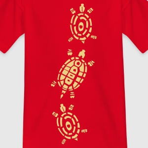 Turtle Decor Shirts - Kids' T-Shirt