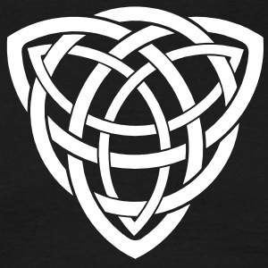 double triquetra T-Shirts - Men's T-Shirt