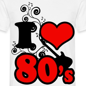 i love 80s - Men's T-Shirt
