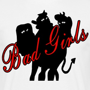 bad girls T-Shirts - Männer T-Shirt