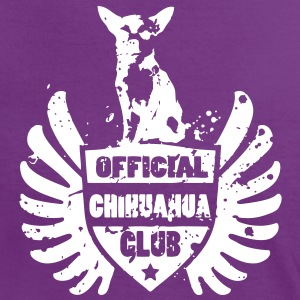 OFFICIAL CHIHUAHUA CLUB Camisetas - Camiseta contraste mujer