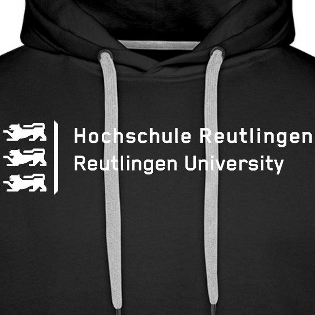 Hochschule Reutlingen, Hoodie unisex, schwarz