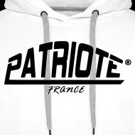 Motif ~ sweet blanc PATRIOTE homme