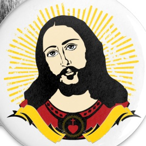 Jesus - Buttons groß 56 mm