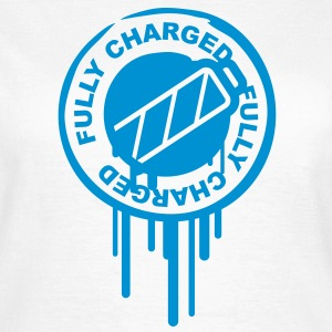 fully_charged_stamp T-shirts - T-shirt dam