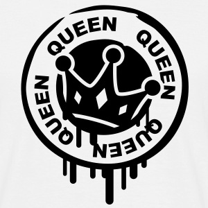queen_crown_stamp Tee shirts - T-shirt Homme