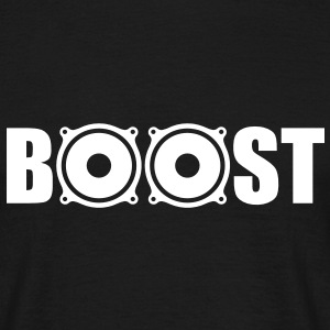 Bass Boost T-Shirts - T-skjorte for menn