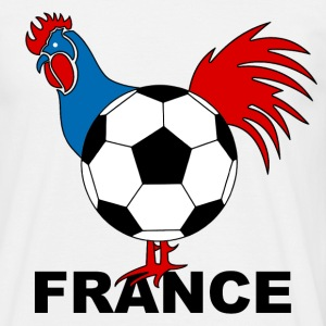 football french rooster Tee shirts - T-shirt Homme