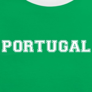 portugal T-Shirts - Frauen Kontrast-T-Shirt