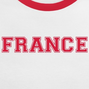 france T-Shirts - Women's Ringer T-Shirt