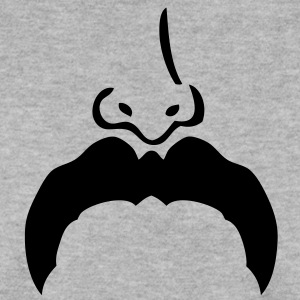 moustache mustache nez nose7 Sweat-shirts - Sweat-shirt Homme