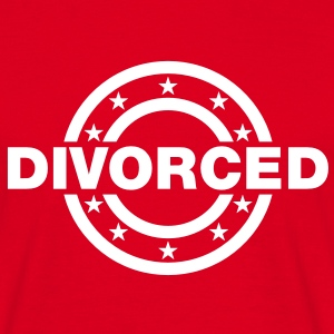 divorced Stamp T-Shirts - Men's T-Shirt