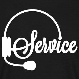 Servicehotline | Service T-Shirts - T-shirt Homme
