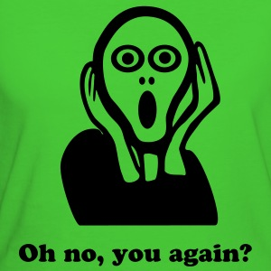 Scream - Oh no, you again! - Women's Organic T-shirt