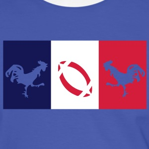 supporters_rugby_france_coqs_gaulois Tee shirts - T-shirt contraste Homme