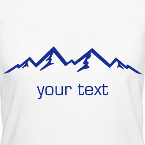 Mountains, Alps, Nature - Women's Organic T-shirt