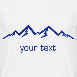 Mountains, Alps, Nature - Men's T-Shirt