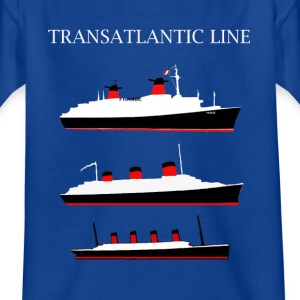 LE FRANCE, LE NORMANDIE, LE TITANIC Tee shirts Enfants - T-shirt Enfant