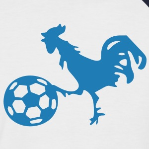 supporter football france coq gaulois Tee shirts - T-shirt baseball manches courtes Homme