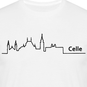 celle skyline - Männer T-Shirt