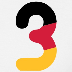 Euro 2012 Germany national football team number 3 - Mannen T-shirt
