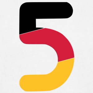Euro 2012 Germany national football team number 5 - Men's T-Shirt