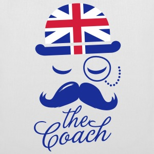 England Gentleman championship coach football | olympics sporting moustache Tasker - Mulepose