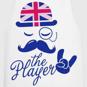 England Gentleman championship player football | olympics sporting moustache  Aprons - Cooking Apron