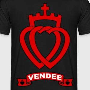 vendee coeurs Tee shirts - T-shirt Homme
