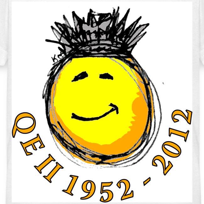 QE II Queenie Jubilee Smiley