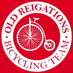 Old Reigations Bicycling Team - Men's T-Shirt