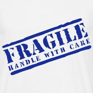Mens Fragile handle with care T-shirt - Men's T-Shirt