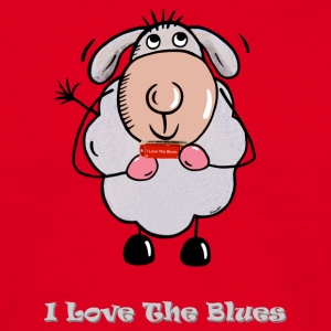 I Love The Blues T-Shirts - Männer T-Shirt