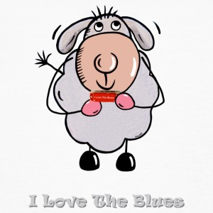 I Love The Blues T-Shirts - Männer Bio-T-Shirt