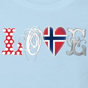Love Norway White Shirts - Kids' Organic T-shirt