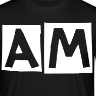 Design ~ Awful Modifications 'AM' logo tee.