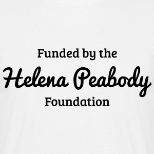 Funded by the Helena Peabody Foundation Camisetas - Camiseta hombre