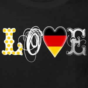 Love Deutschland White - Kinder Bio-T-Shirt