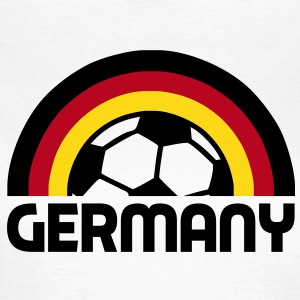german rainbow soccer T-Shirts - Frauen T-Shirt