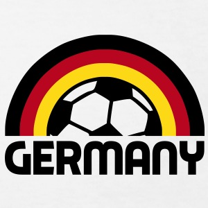 german rainbow soccer T-shirts - Ekologisk T-shirt barn
