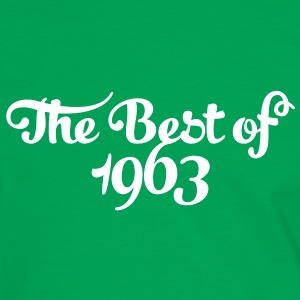 Geburtstag - Birthday - the best of 1963 (no) T-skjorter - Kontrast-T-skjorte for menn