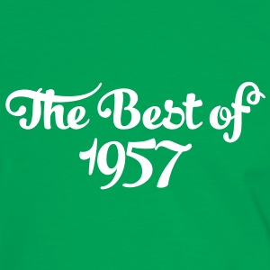 Geburtstag - Birthday - the best of 1957 (fr) Tee shirts - T-shirt contraste Homme