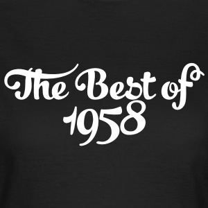 Geburtstag - Birthday - the best of 1958 (es) Camisetas - Camiseta mujer